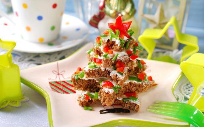 Бутерброды на Новый год 2022 рецепты