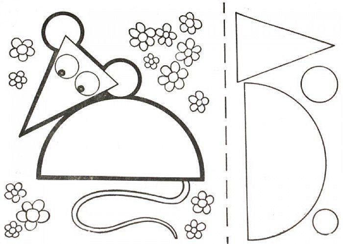 Схема мыши