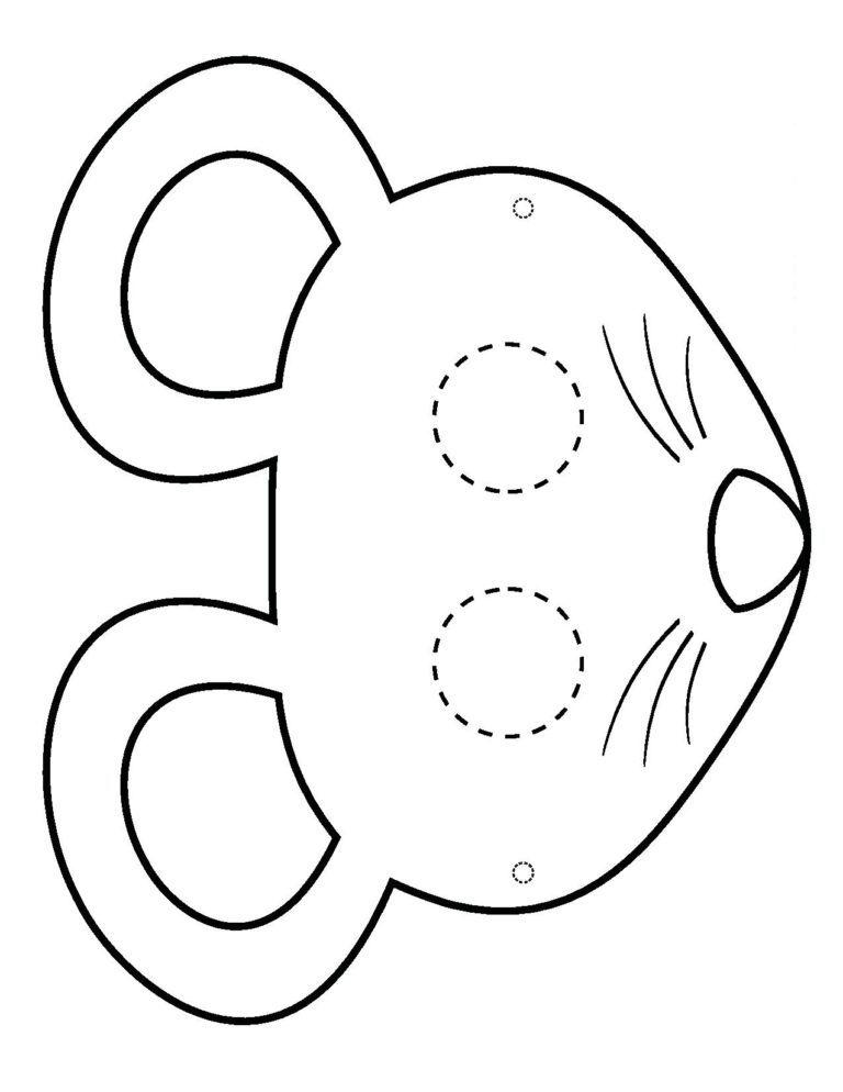 Голова мышки
