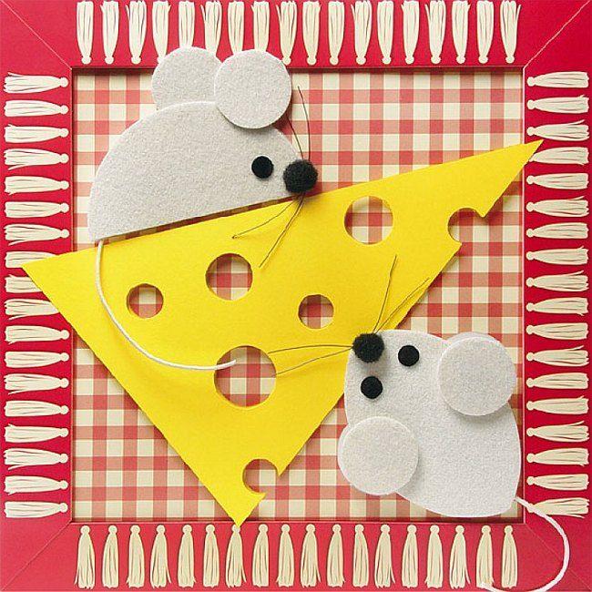 Сыр из бумаги