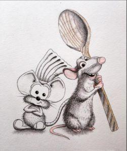 Скачать картинку с крысой