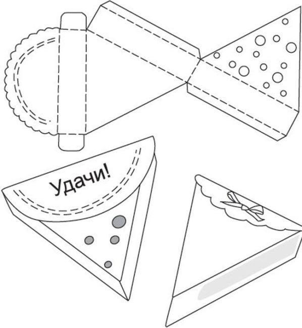 Бумажный шаблон