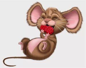 Скачать картинку голодная мышку