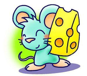 Скачать рисунок мышка