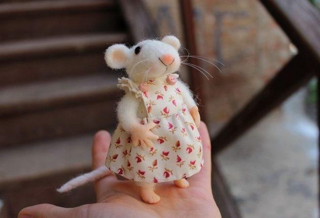 Крыса из фетра 2020