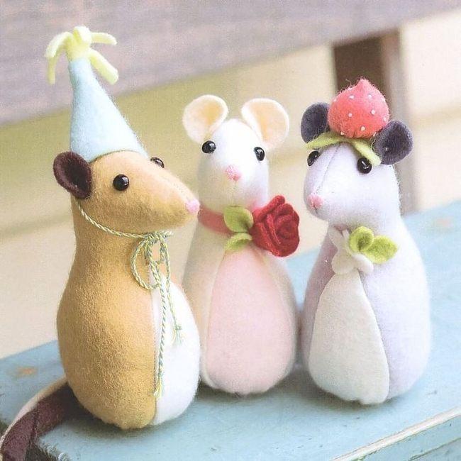Объемные мягкие игрушки