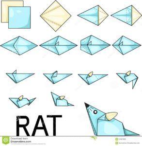 Поделка-оригами