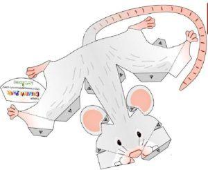 Поделка Мышь 2020