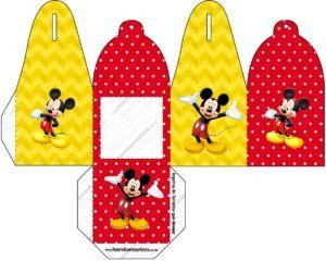 Схема коробки с Микки Маусом