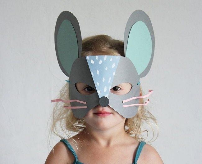 Новогодняя маска Крысы 2020