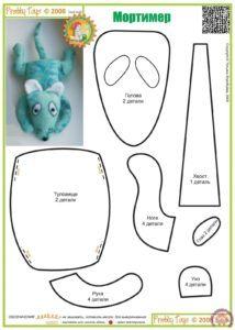 Составные части мягкой игрушки