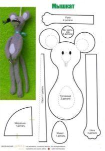 Схема игрушки Мышкат