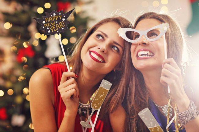 Новогоднее поздравление сестре