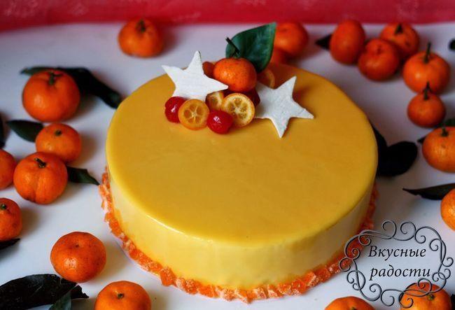 Фруктово-ягодный декор на десерт