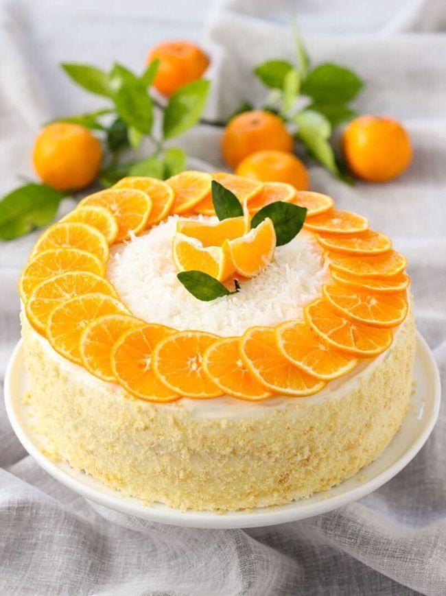 Слайсы из апельсинов