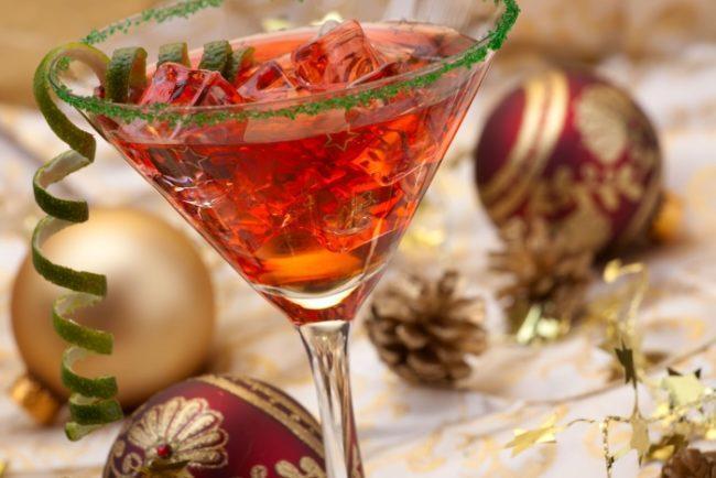 Праздничный коктейль бум-бум