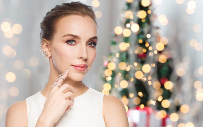 Сочетание новогоднего образа
