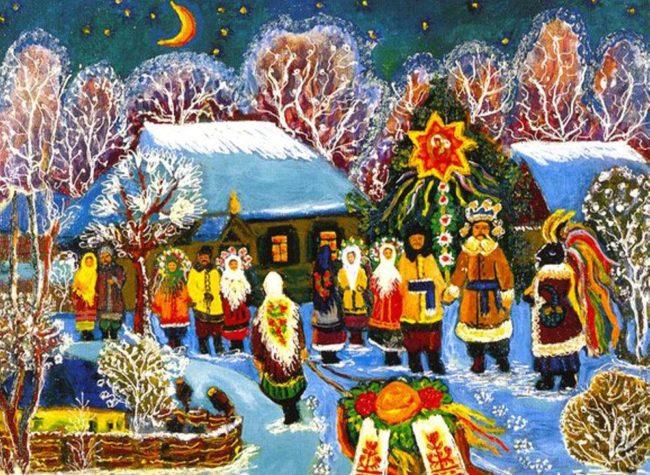 Прикольные стишки на Рождество