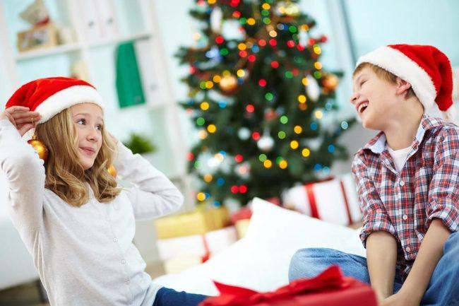 Короткие стихи для детей на Новогодний праздник