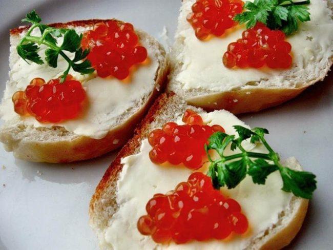 красивый бутербродик