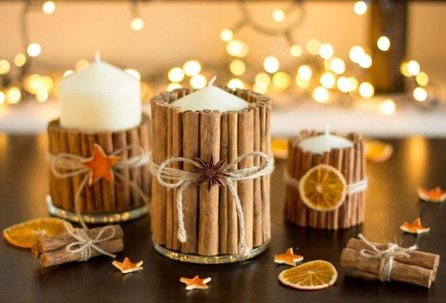 Новогодние свечи 2022