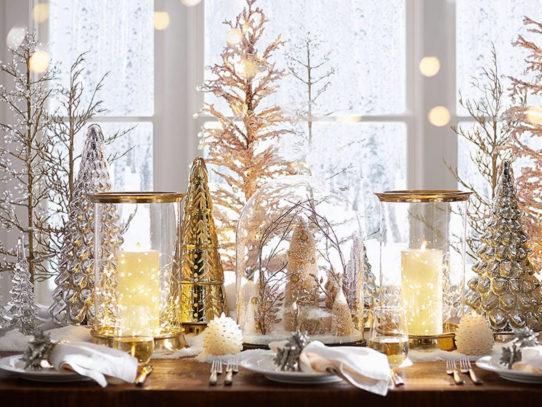 Декор со свечами