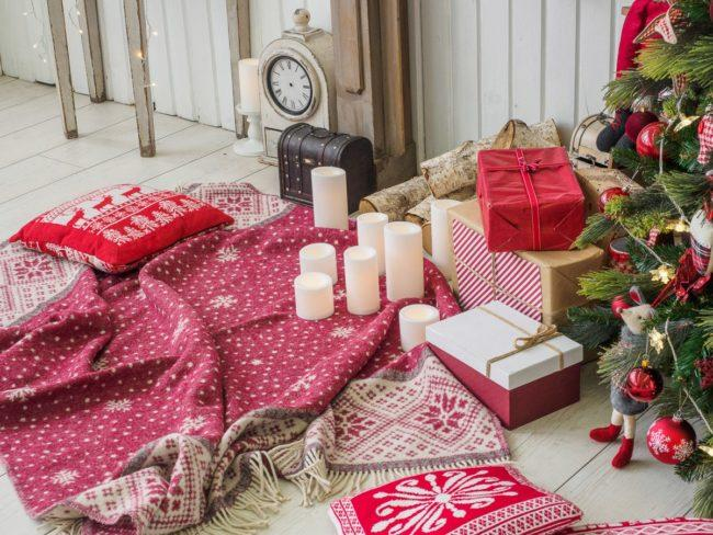Фотографии Новогодних свечей