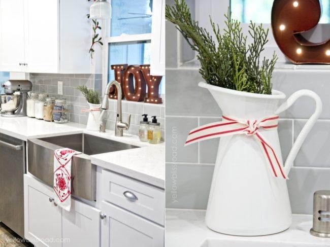 Декор кухни на Новогодние праздники