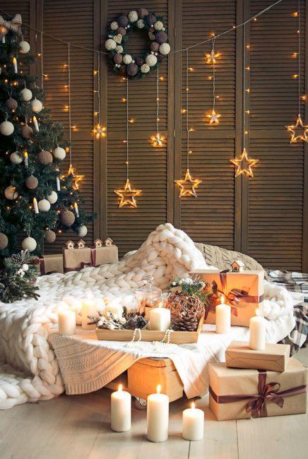 красивый декор на Новый год