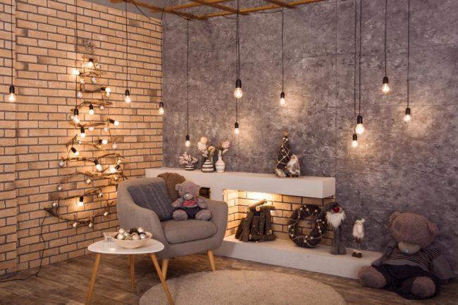 елочка на стену