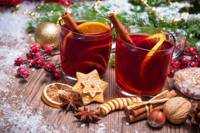 Новогодние напитки 2020