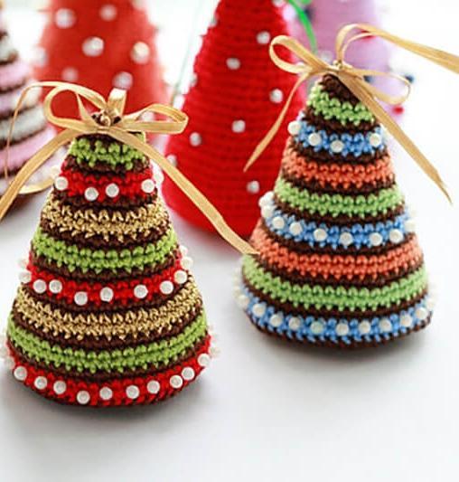 Идеи для новогоднего вязания
