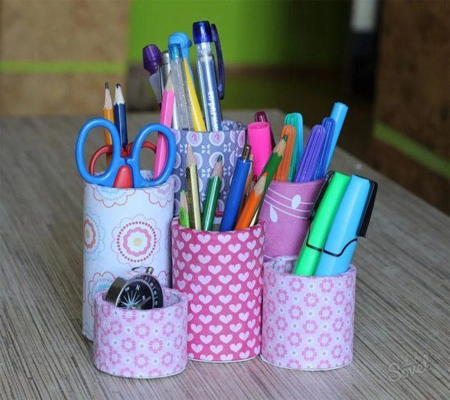 декоративная карандашница
