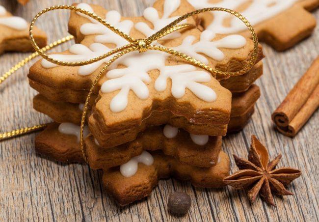 печенья с глазурью айсинг