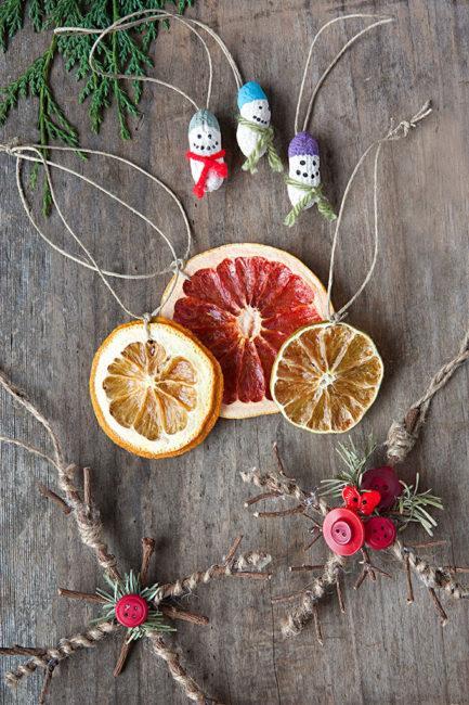 фруктовые подвески