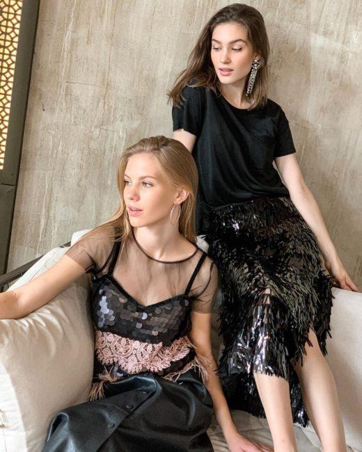 новинки платьев на Новый год 2021
