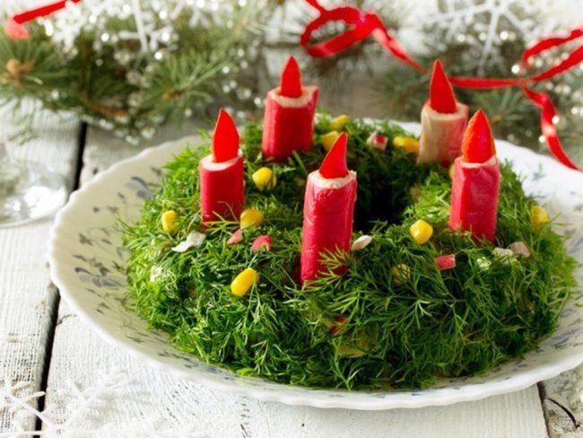 фото красивого салата