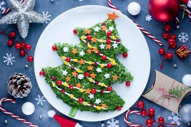 декор новогодних блюд