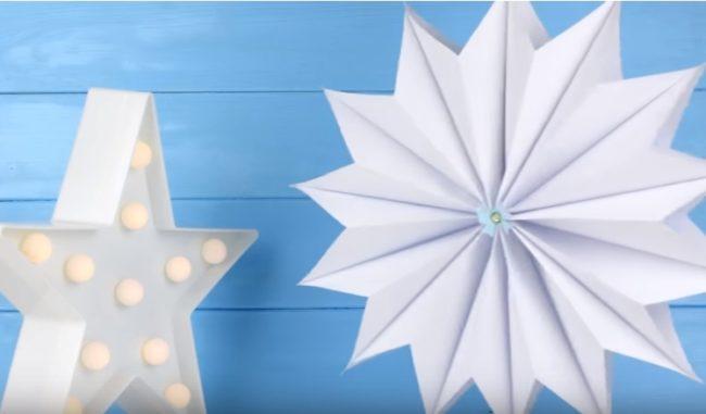белая звездочка