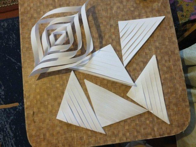 бумажные полоски