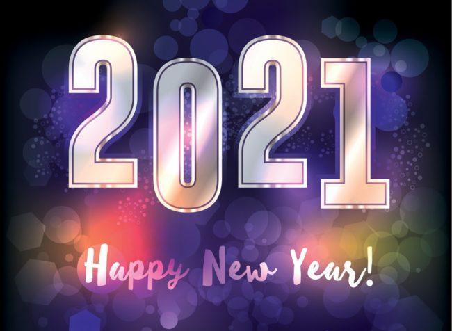 новогодние открыточки на год Белого Металлического Быка