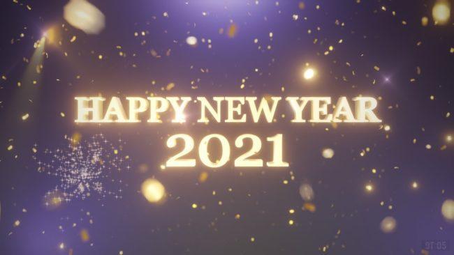 новогодние открытки на год Быка 2021