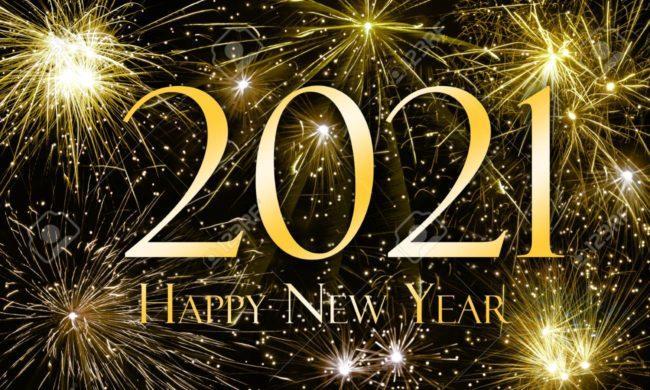 Открытки на Новый год Быка
