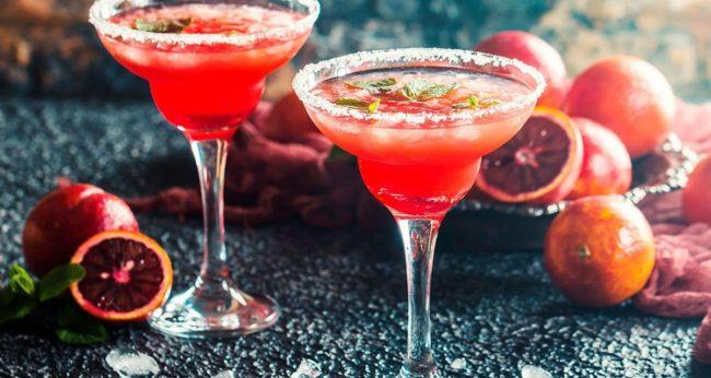 грейпфрутовый зимний коктейль