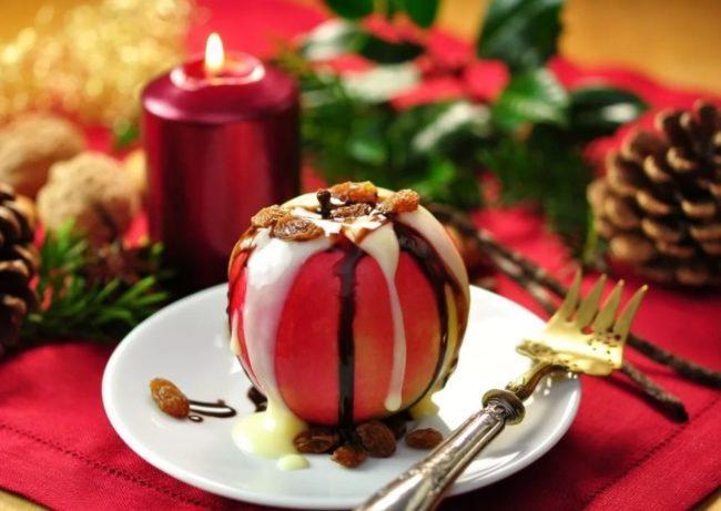 фото яблочного десерта