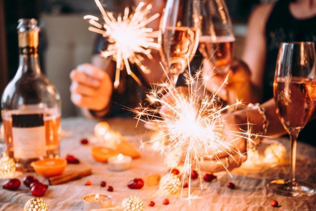 Приметы о шампанском