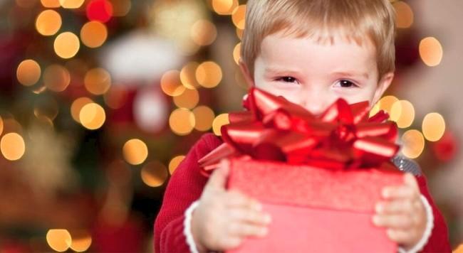 Что подарить маленькому сыну на Новый год