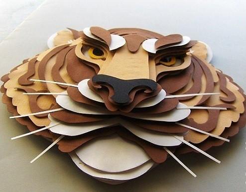 объемный Тигр