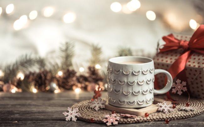 красивый новогодний уют