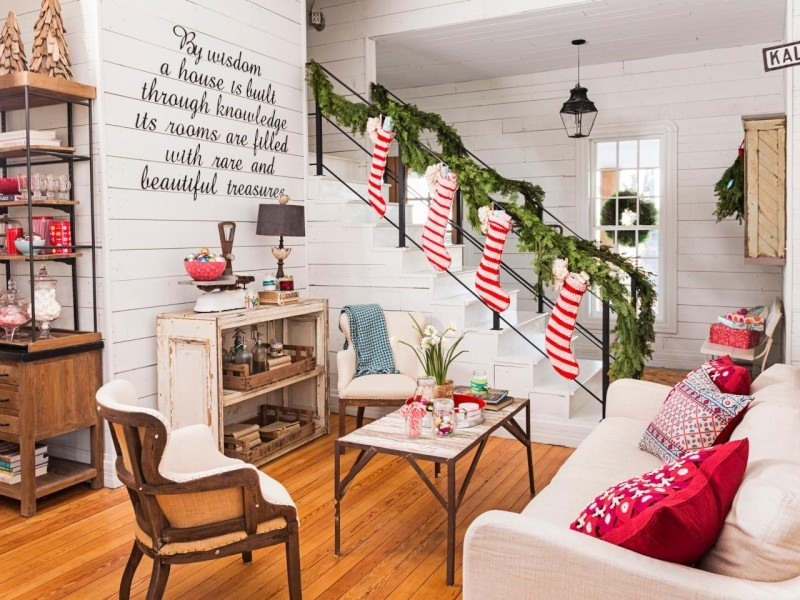 как нарядить дом на год Тигра